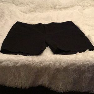 Black Bermuda Shorts by Banana Republic
